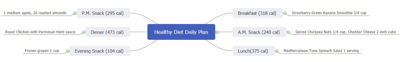 healthy diet daily plan
